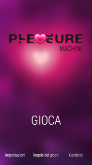 Pleasure Machine – Gioco erotico per coppie